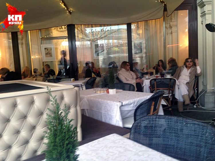 """В кафе """"Боско"""" в центре Москвы перед смертью сидел Борис Немцов"""
