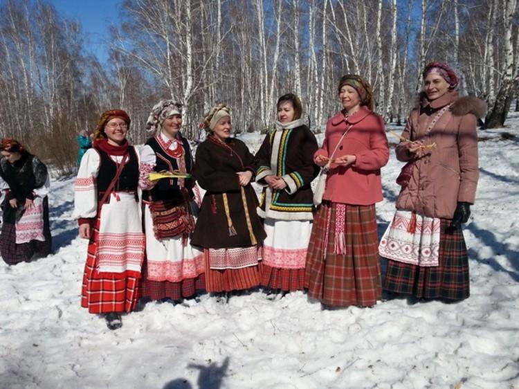 Гуканье весны в Иркутске белорусы традиционно проводят в конце марта.
