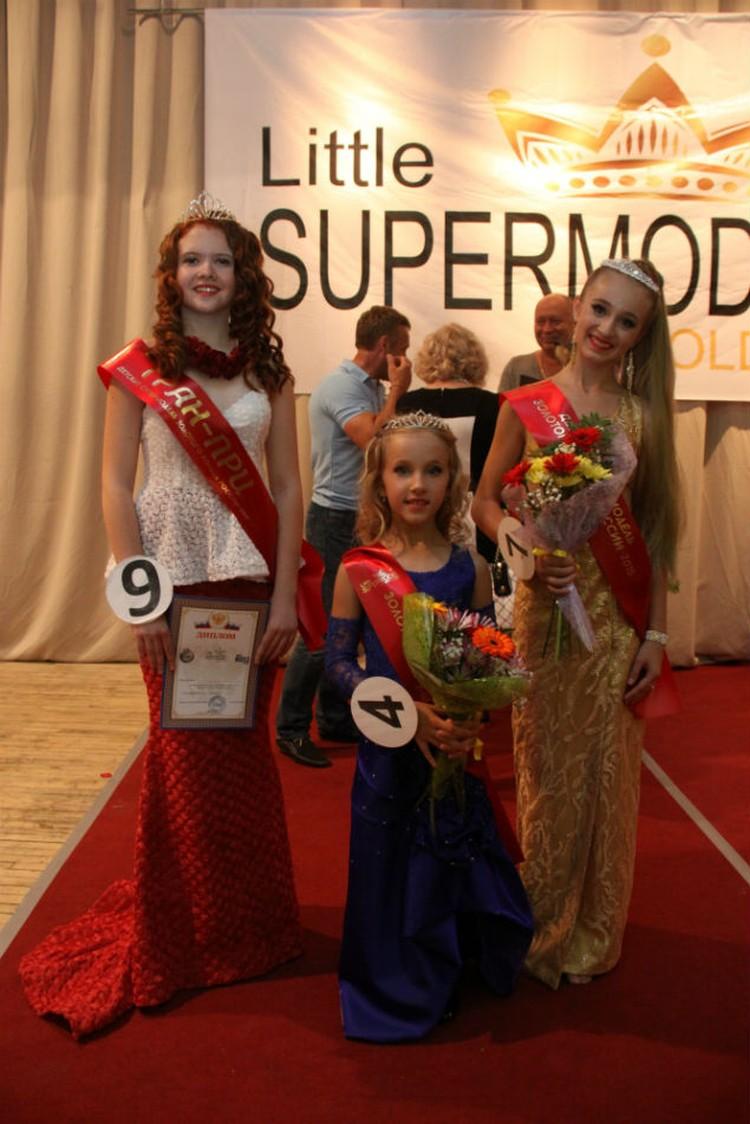 Сестренки Женя и Валерия Никифоровы стали лучшими в своих возрастных группах.
