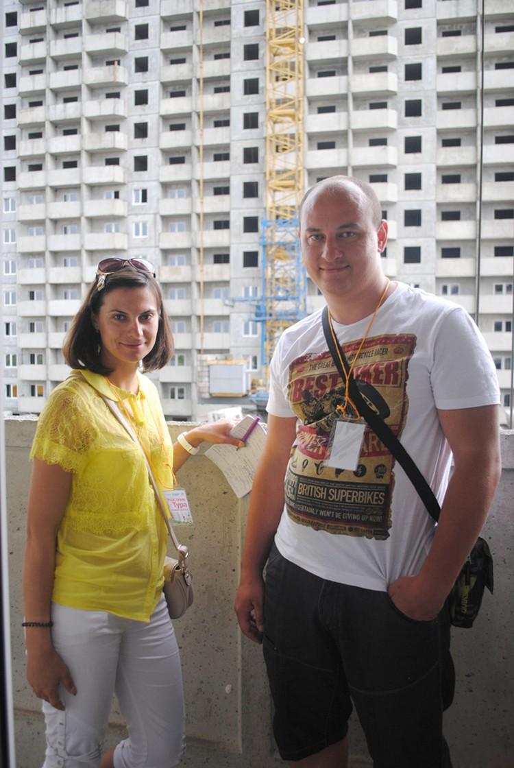 Молодые пары порадовали большие площади квартир ЖК «Платовский». Фото: Анна Мухтарова