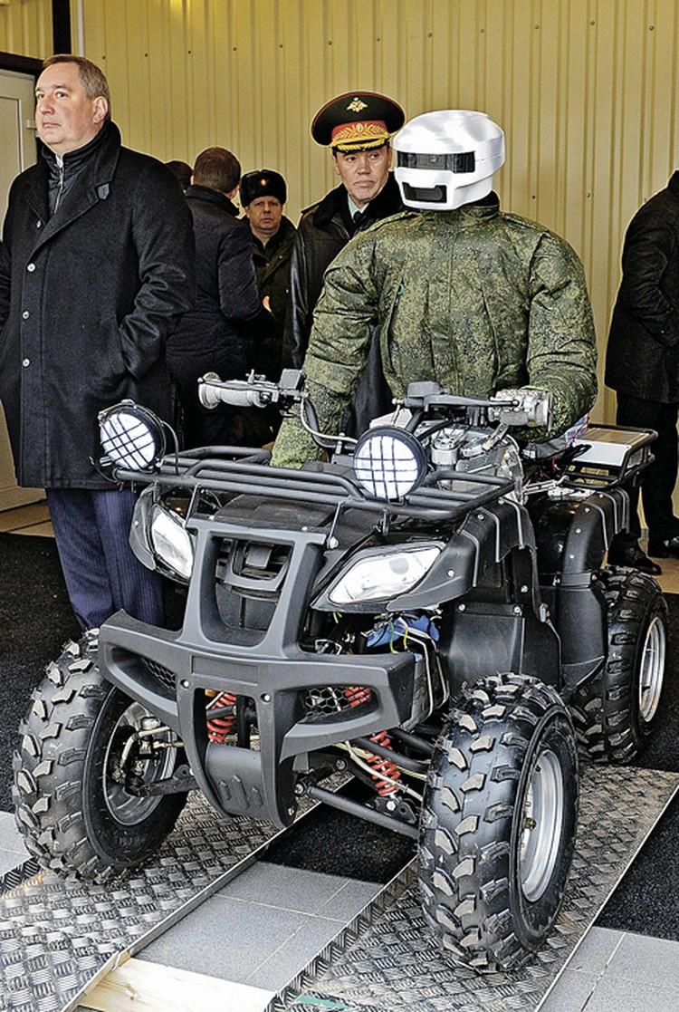 Так выглядит российский робот-аватар.