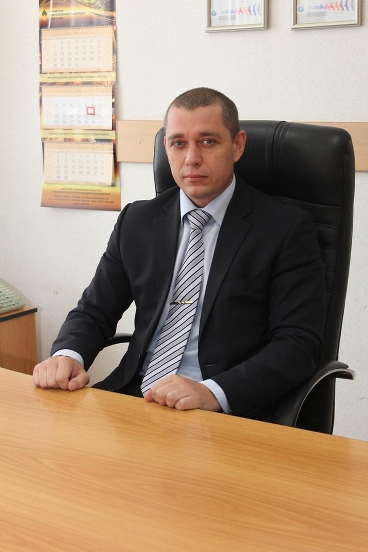 Первый заместитель генерального директора - технический директор РНПК Алексей Мыльцын.