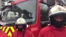 Полиция работает на месте нападения на прохожих в Париже