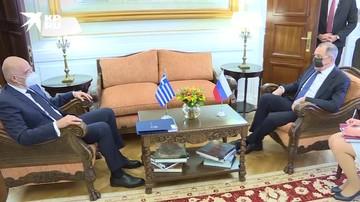 Лавров проводит переговоры с главой греческого МИД Дендиасом