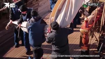 Барк «Седов» завершил кругосветную экспедицию и вернулся в Калининград