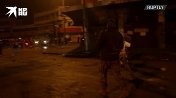 Акция протеста против локдауна в Ливии