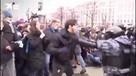 Задержан уроженец Чечни, подравшийся с ОМОНом на несанкционированной акции