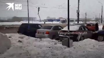 Взрыв газа в кафе в Нижнем Новгороде