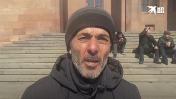 Протестующий в Ереване: Пашинян у нас - такой же Навальный. Развалил все наше государство