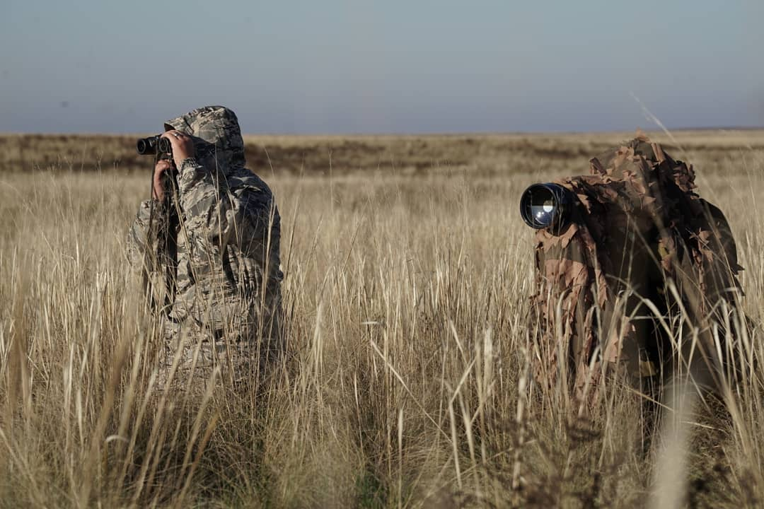 """Работаем, снимаем фильм о сайгаках #radiobumba #калмыкия заповедник """"Чёрные Земли"""" #ПрезидентскийГрант"""