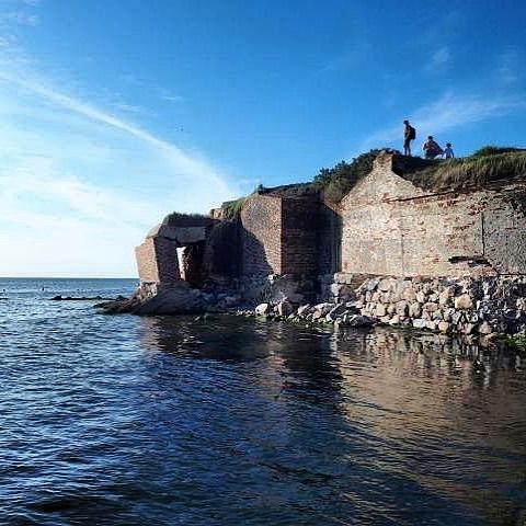 На Балтийской косе сохранились удивительные памятники военной истории