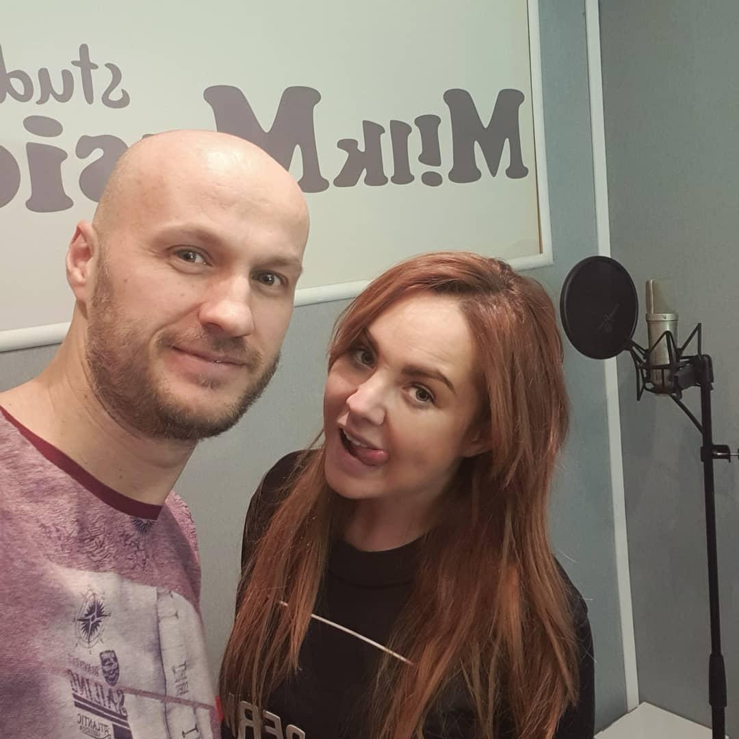 С красоточкой Максим