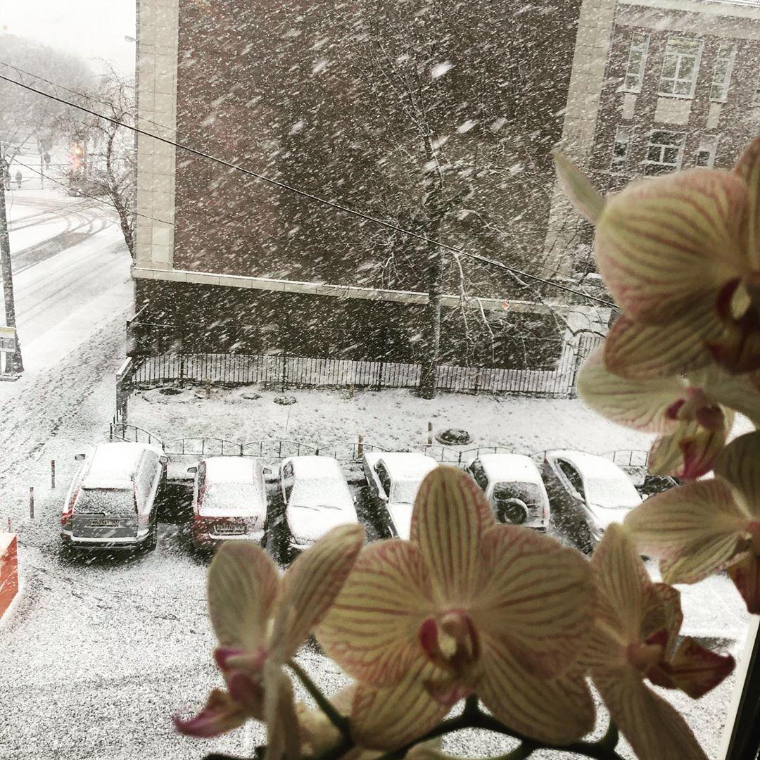 В Москву пришла зима