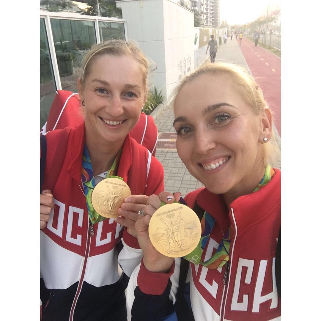 Все для тебя Великая Россия!!! All for you Russia!!! @vesnushka86 #rio2016 #tennis #olympicgames #goldmedalist #олимпийскиечемпионы #теннис