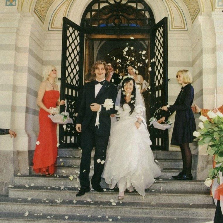С годовщиной венчания вас, дорогие наши Настя и Петр!
