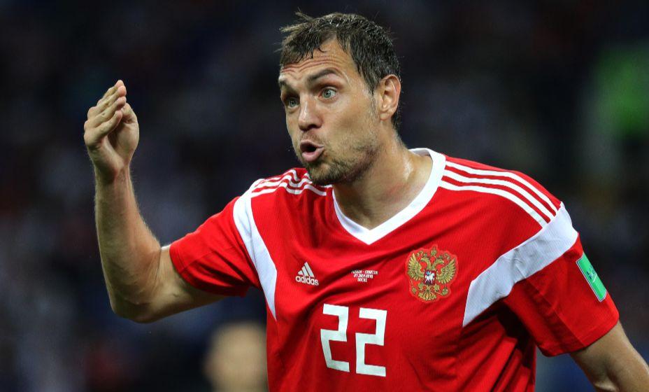 Сборная России будет готовится к матчам отбора ЧМ-2022 с Хорватией без Дзюбы. Фото: Global Look Press