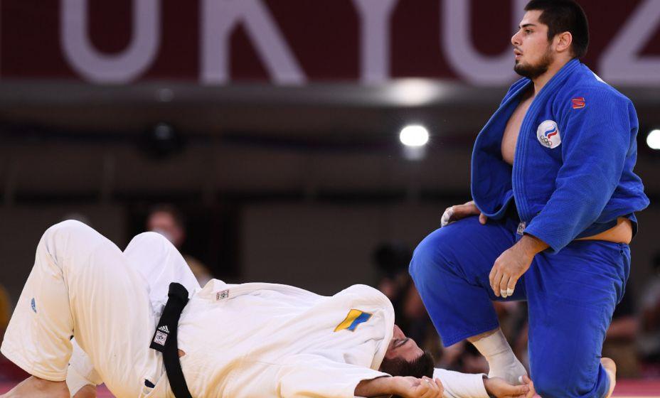 Тамерлан Башаев одолел украинского соперника и стал обладателем бронзовой награды по дзюдо. Фото: Reuters