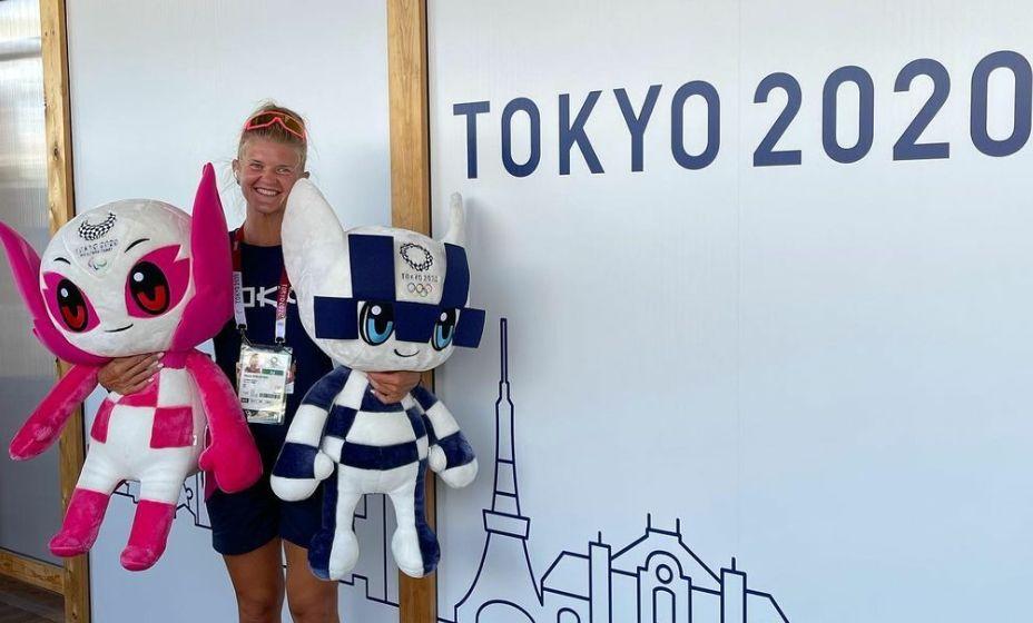 Гребчиха Анна Пракатень, выступающая за Петербург, взяла серебро в Токио-2020. Фото: Инстаграм Анны Пракатень