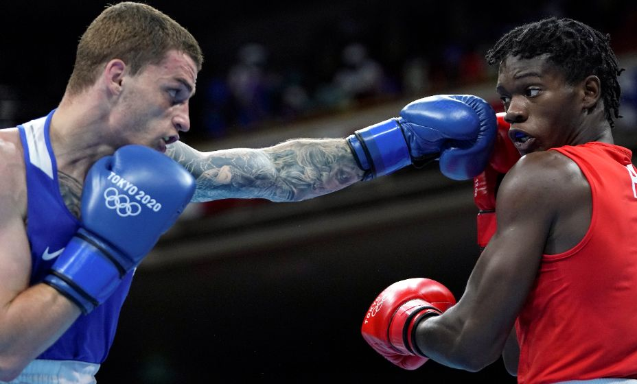 Глеб Бакши побил на ринге противника из Гаити Даррелла Вальсента. Фото: Reuters