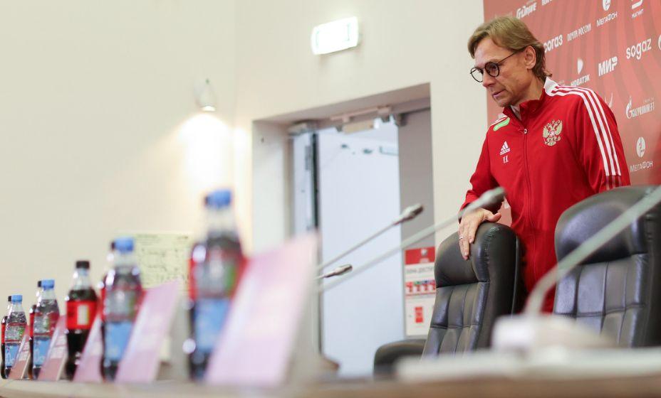 Валерий Карпин задумался о перспективах попадания своей команды на ЧМ-2022. Фото: РФС